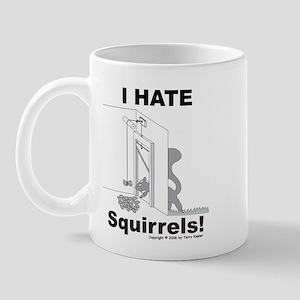 Squirrel Guillotine Mug