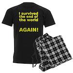 I survived . . . AGAIN! Men's Dark Pajamas