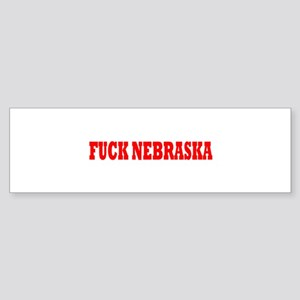 Fuck Nebraska Bumper Sticker