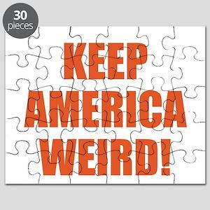 KEEP AMERICA WEIRD! Puzzle