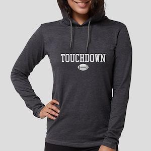 Touchdown Womens Hooded Shirt