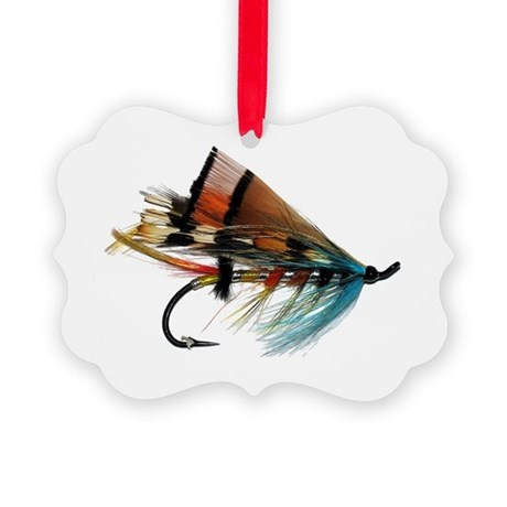 fly 2 Picture Ornament