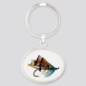 fly 2 Oval Keychain