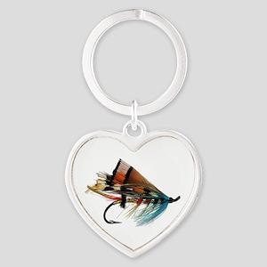 fly 2 Heart Keychain