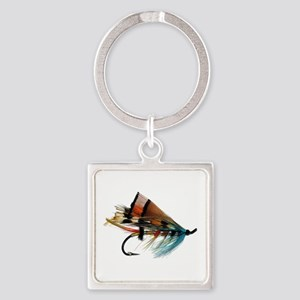 fly 2 Square Keychain