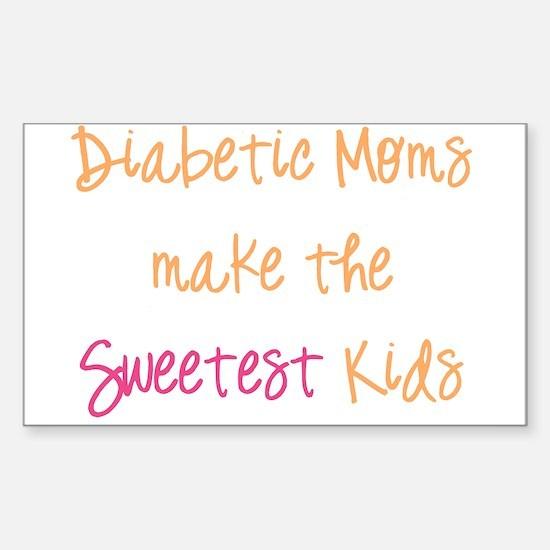 Cute 1 mom Sticker (Rectangle)