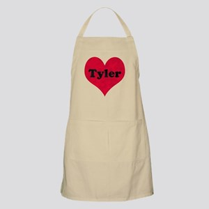 Tyler Leather Heart Apron