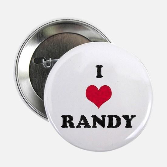 I Love Randy Button
