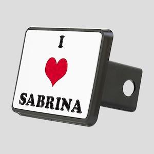 I Love Sabrina Rectangular Hitch Cover