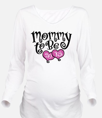 Mom To Be 2018 Long Sleeve Maternity T-Shirt