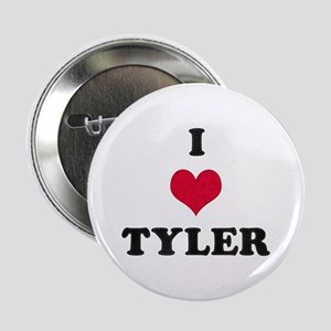 I Love Tyler Button
