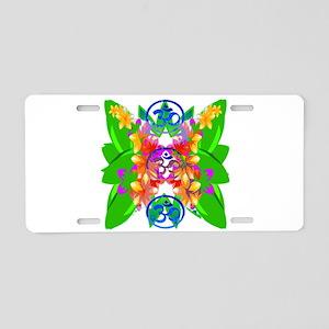 Shangri La Aluminum License Plate