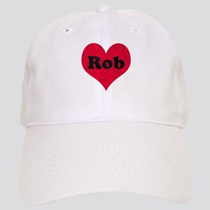 Rob Leather Heart Cap