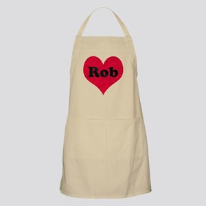Rob Leather Heart Apron