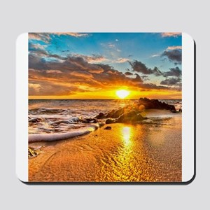 Sunrise Beach Mousepad