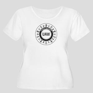 uaw Plus Size T-Shirt