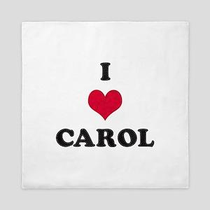 I Love Carol Queen Duvet