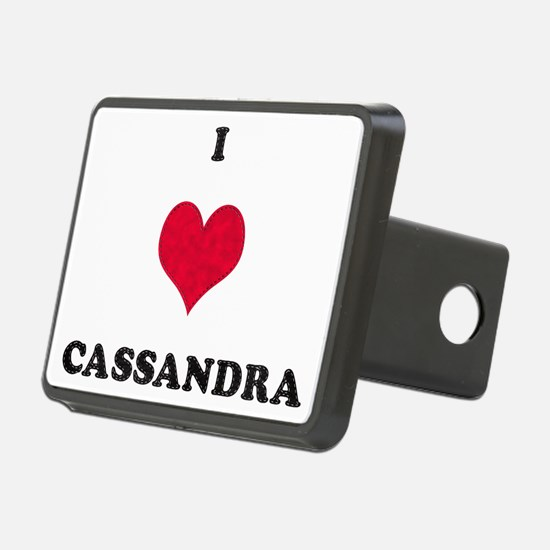 I Love Cassandra Hitch Cover