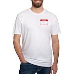 John Jacob Jingleheimer Schmidt Fitted T-Shirt