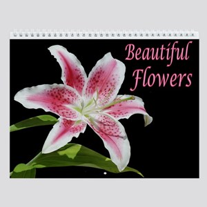 Beautiful Flowers Wall Calendar