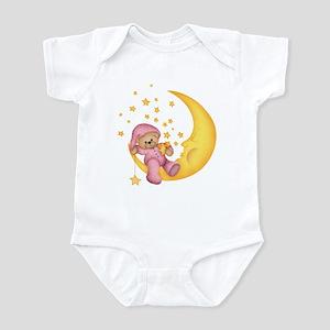 Pink Starlite Bear Infant Bodysuit
