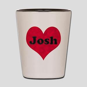 Josh Loves Me Shot Glass