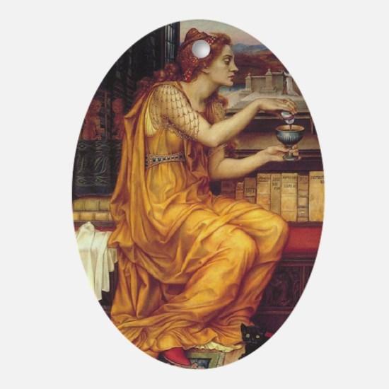Love Potion Oval Ornament