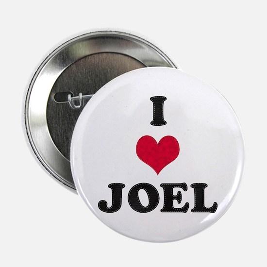 I Love Joel Button