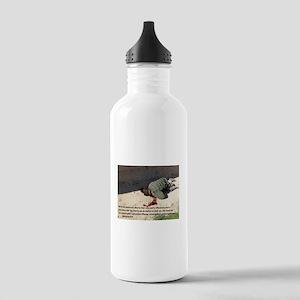 Fell on Afghan boy murder Stainless Water Bottle 1