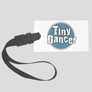 Tiny Dancer - Blue Large Luggage Tag