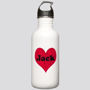 Jack Leather Heart Stainless Water Bottle 1.0L