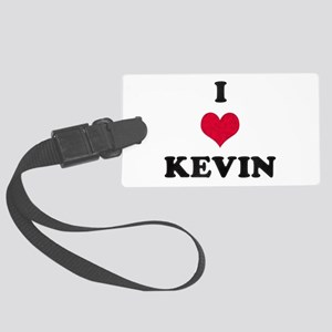 I Love Kevin Large Luggage Tag