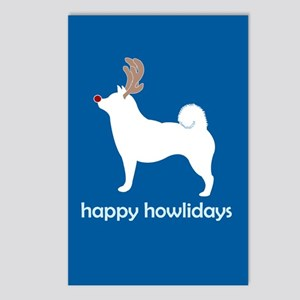 "Shiba Inus ""Happy Howlidays"" Postcards (Package of"