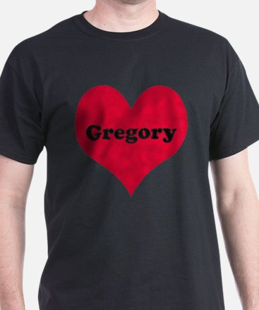 Gregory Leather Heart T-Shirt