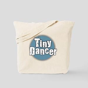 Tiny Dancer - Blue Tote Bag