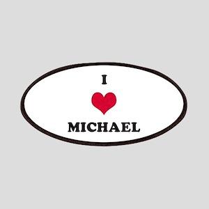 I Love Michael Patch