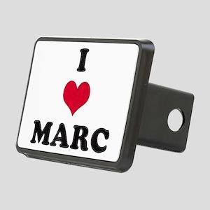 I Love Marc Rectangular Hitch Cover