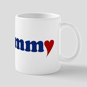 Emmy with Heart Mug