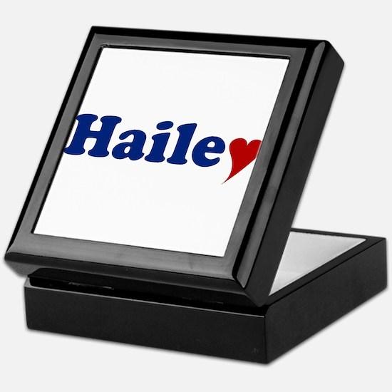 Hailey with Heart Keepsake Box