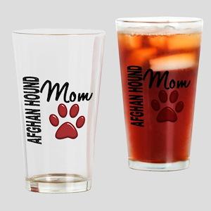 Afghan Hound Mom 2 Drinking Glass
