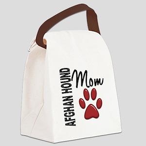 Afghan Hound Mom 2 Canvas Lunch Bag
