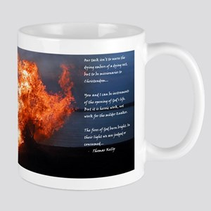 Thomas Kelly on Gods fires Mug