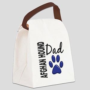 Afghan Hound Dad 2 Canvas Lunch Bag