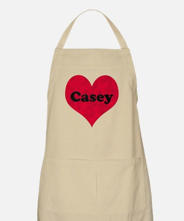 Casey Leather Heart Apron