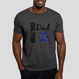 Airedale Terrier Dad 2 Dark T-Shirt