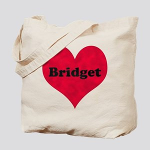 Bridget Leather Heart Tote Bag