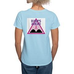 Speedbumps Women's Pink T-Shirt