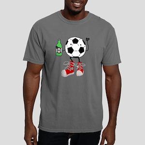 Funny Soccer Ball Man Dr Mens Comfort Colors Shirt