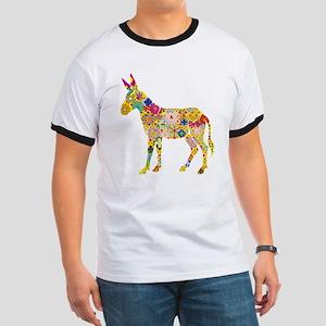 Flower Donkey T-Shirt