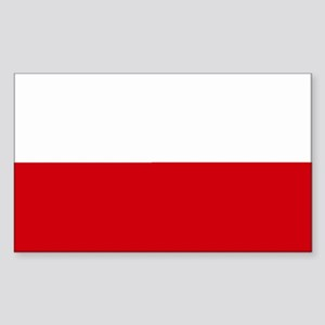 Poland Rectangle Sticker